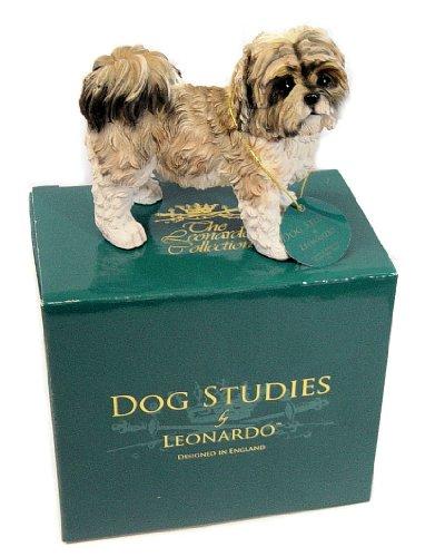 Shih Tzu Dog Ornament Dog Studies by Leonardo