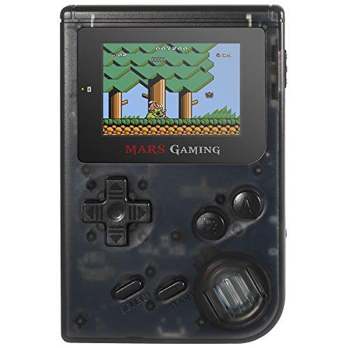 Mars Gaming MRB, Consola Retro, 151 Juegos Instalados, Micro SD, Negro