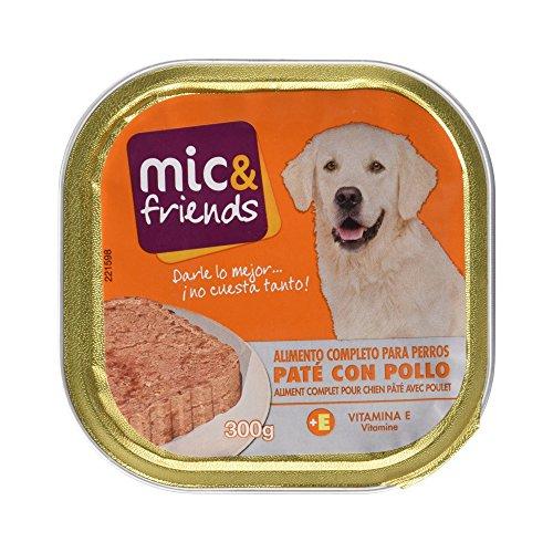 Mic&Friends - Paté Con Pollo - Alimento Completo para Perros - 300 g