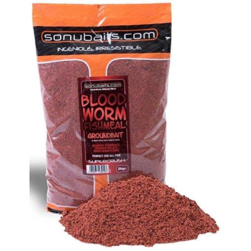 Sonubaits Match Method Mix 2kg Bloodworm Fishmeal 2kg