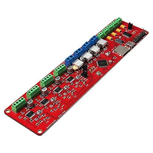 ZTSHBK Durevole Scheda di Controllo Accessoria Stampante 3D Adatta per Scheda di Controllo Melzi 0 1284P Prusa I3 Scheda di Controllo Scheda Madre
