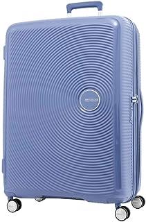 American Tourister - Curio 80cm Large 4 Wheel Hard Suitcase - Denim Blue