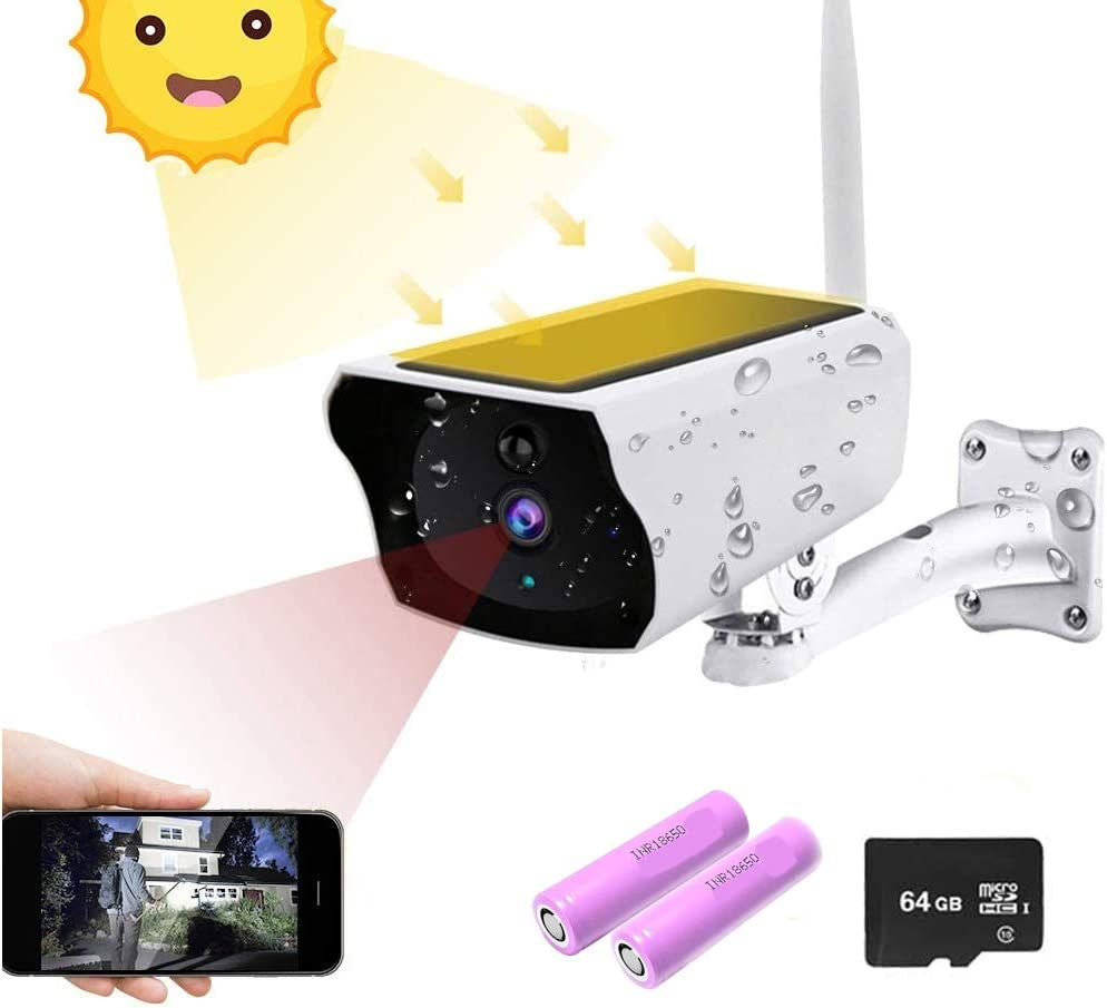 Solar Security Camera Outdoor Wireless Ranking TOP20 Surveillance H Directly managed store 1080P WiFi