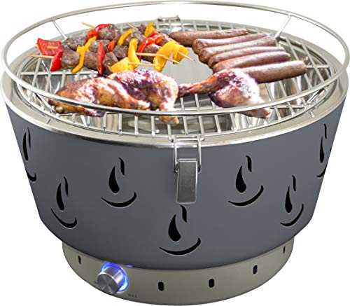 513WCvgmGxL - ACTIVA Grill Tischgrill AIRBROIL, Holzkohlegrill