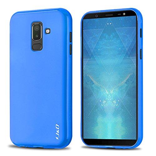J&D Compatible para Galaxy J7 2018 Funda, [Cojín Fino] [Parachoques Ligero] [Protección contra Caídas] Resistente Funda TPU Protectora para Samsung Galaxy J7 2018 - [NO para Galaxy J7 2017/J7 Prime]
