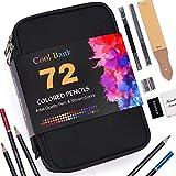 Best Colored Pencil Sets - 72 Colored Pencils Zip-Up Set, Artist Pencils Set Review