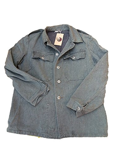 Swiss Army Work Denim Jacke XL blau