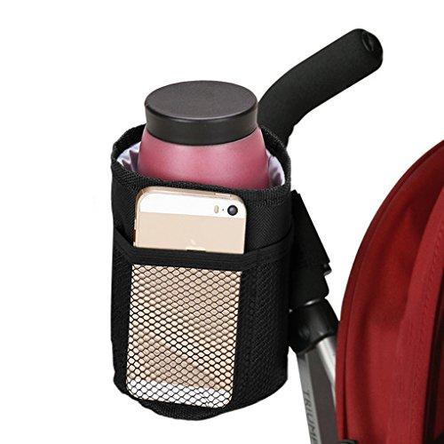 FakeFace® Universell Kinderwagen Buggy Getränkehalter Flaschenhalter