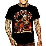 Elvis Presley- Camiseta Elvis Zombi (XL)