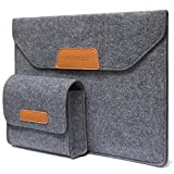 Laptop Sleeve Case, MUII&CELI Notebook PC Carrying Case Protective Bag Compatible 13.3' MacBook Air/MacBook Pro/Surface Laptop/12.9' iPad Pro Comfort Laptop Sleeves Suitable for 13.3inch Ultrabook