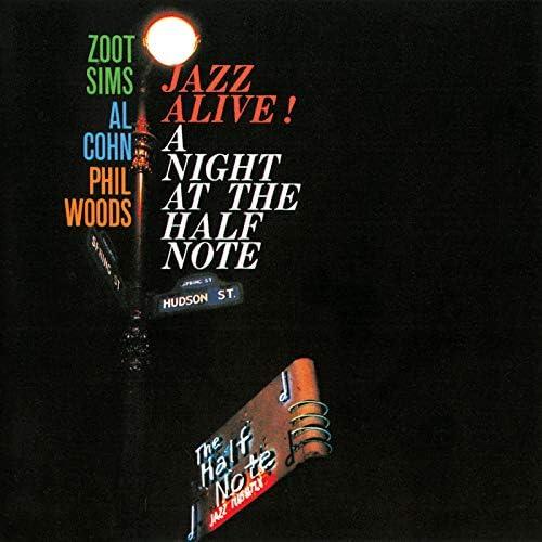 Zoot Sims, Al Cohn & Phil Woods