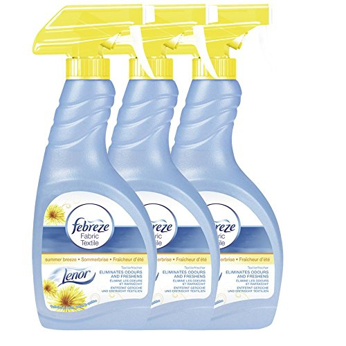 Febreze Textilerfrischer Sommerbrise Lenor 500ml Sprühflasche ( 3er Pack )