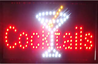 CHENXI BAR Pub Beer LED Neon Light Sign Home Decor Shop Signs of led Size 48 X 25 cm Indoor use (48 X 25 cm, I)