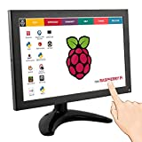 Elecrow 10.1 Inch IPS LED Touch Screen 1280x800 Resolution Portable Small HD Monitor with HDMI BNC VGA AV USB Input for Raspberry Pi Windows 7 8 System FPV Video TV CCTV Security Black