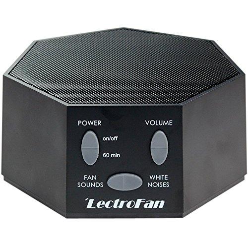 LectroFan ASM1007-G Máquina de Ruido blanco con Sonidos de Ventilador y...