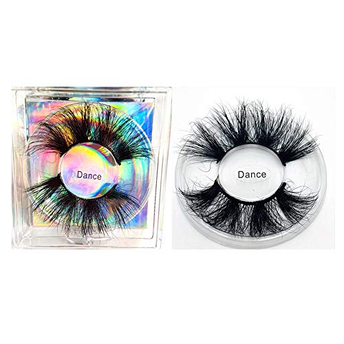 1 Paar 5D Falsche Wimpern, Soft And Thick False Eyelashes, 3D Long Thick Curly Dramatic Natural of False Eyelash