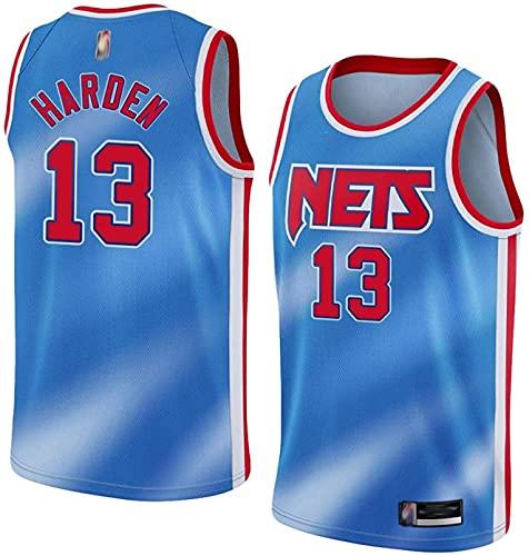 Movement 2021, New Sports Fan # 13 de Entrenamiento de Brooklyn James Harden para Hombre, Camiseta(Size:/SG,Color:G1)