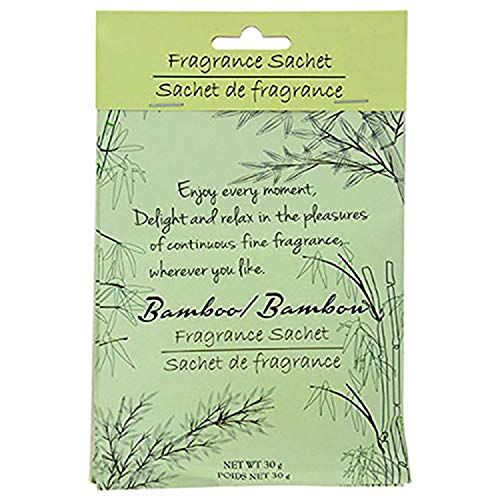 Bamboo-Scented Fragrance Sachets, Portable Scented, Scented Sachets for Home, Office, Fresh Clean (2-ct. Pack)