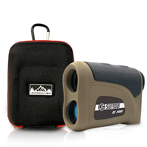 Surgoal HD Long Distance 2000Yard6X-Mag Class I Hunting Laser Rangefinder_All-Purpose