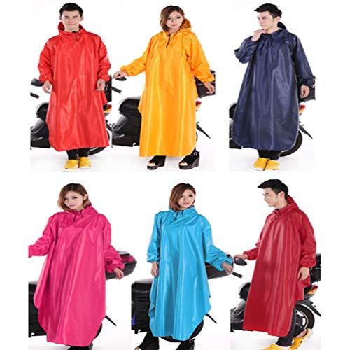 XGYUII Otorcycling-regenjas met dubbele rand en mouwen Mannelijke en Vrouwelijke Kaap met Reflecterende Strip Veilig Rijden Dubbele Bescherming Gebruiker en Scooter