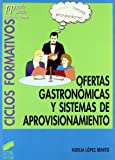 Ofertas gastronómicas y sistemas de aprovisionamiento: 21 (Ciclos formativos. FP grado medio. Hostelería y turismo)