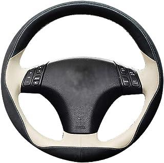 LUOERPI Cubierta de Cuero para Volante, para Mazda 3 Axela 2003-2009, para