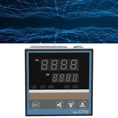 Termostato PID, medidor de temperatura, hebilla de alta precisión, instalación de interruptor de controlador de temperatura extraíble para detectar temperatura