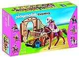 Playmobil Coleccionables - Country Caballo de Paseo con Establo Muñecos y Figuras (Playmobil 5518)