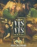 Vis a Vis El Oasis 2021 Calendar: TV Series 2021 Calendar Size 8.5x 11 inches