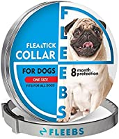Dog Collar, Adjustable Collar for Dogs Small and Large, Waterproof Natural Dog Treatment, Prevention for Dogs