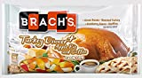 Brach's Candy Corn Turkey Dinner: Green Beans, Roasted Turkey, Cranberry Sauce, Stuffing, Apple Pie, and Coffee Flavors, 12oz