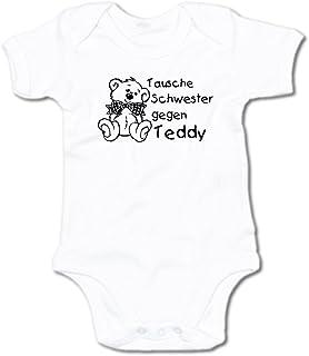 G-graphics Baby Body Tausche Schwester gegen Teddy 250.0033