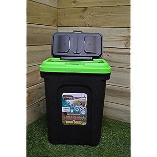 King Fisher Pet or Bird Food Storage Tub, 30 Litre