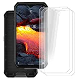 [3-Pack] for Ulefone Armor 9E Screen Protector,HHUAN 9 Hardness Anti-Scratch Tempered Glass Screen Protector,No Bubbles Tempered Glass Protective Film for Ulefone Armor 9E (6.3