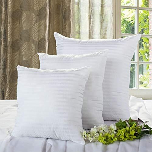 GAX White Cushion Insert Filling PP Cotton Throw Pillow Inner Core Decor Car Chair Soft Seat Cushion,40x40cm 1Piece