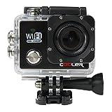 Cooler® Action-Cam SJ4000, Videokamera, 12 MP, HD, 1080p, Weitwinkel, wasserdicht bis 30 m, mit...