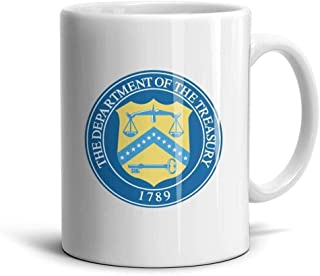 YBmIyVNn Brewing for Kids Seal of The US Department of The Treasury Gifts Home Mugs