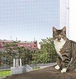 Trixie Filet de Protection Transparent 4 × 3 m pour Chat