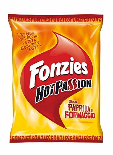 Fonzies Hot Passion Croccantini di Mais al Gusto Paprika e Formaggio - 90 gr