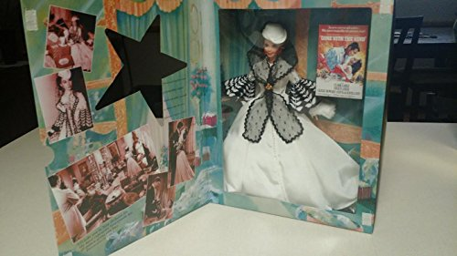 "Mattel Year 1994 Barbie Hollywood Legends Collection Movie Series ""Gone With The Wind"" 12 Inch Doll - SCARLETT O"