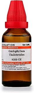 Willmar Schwabe Homeopathic Caulophyllum Thalictroides (1000 CH) (30 ML) by Exportdeals