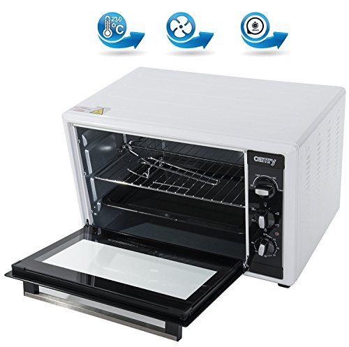 Adler Mini Oven with Capacity of 45 liters and 1800 W Power CR 6007, White, Black