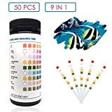 capetsma 9 in 1 Aquarium Test Strips, Best Kit for Water Quality Testing for...