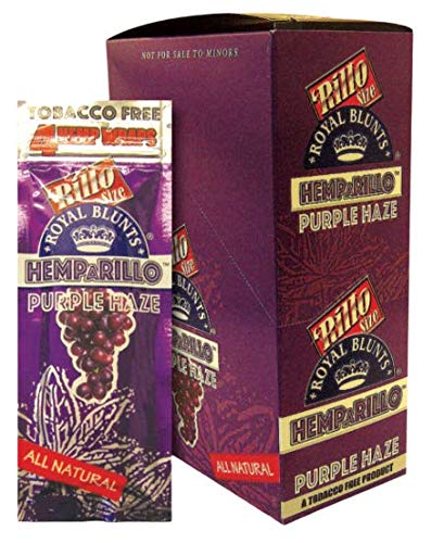 Scatola di 15 bustine di 4 Hemparillo (Purple Haze, 15)