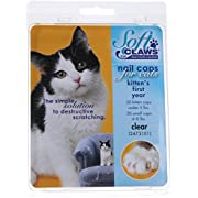 Feline Soft Claws Nail Caps Kitten Clear