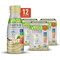 Vega Vanilla Plant Based Vegan Nutrition Shake with Veggies