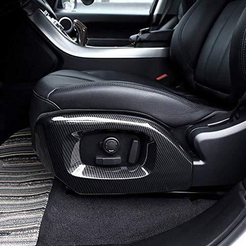 Accessoires de Garniture de Couverture latérale de siège en Fibre de Carbone ABS chromé pour autobiographie RR Vogue pour RR Sport 2014-2017