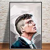 REDWPQ Arte Pintura Personaje TV Show Pop Movie Actor Poster e Impresiones Cuadros de Pared para Sal...