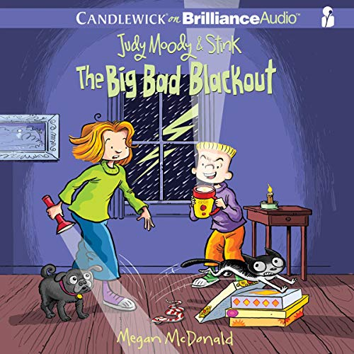 Judy Moody & Stink: The Big Bad Blackout Audiobook By Megan McDonald cover art
