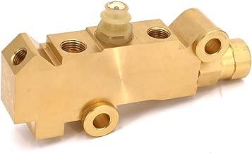 Youteer Front Disc Rear Brake Brass PV4 Brake Proportioning Valve Disc/Disc Brake System Combination Valve